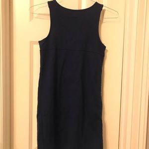 Cat & Jack Girls Uniform Navy Blue Jumper Dress 10